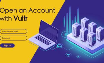 Kako registrirati novi račun na Vultr