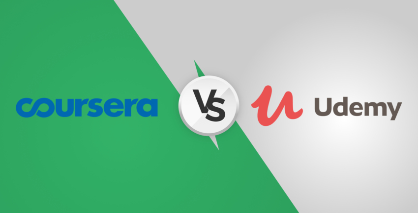 Udemy vs. Coursera Comparison – Which One Is Best For You? [2019]