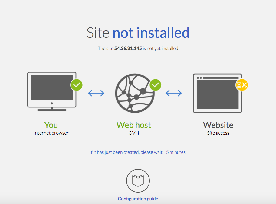 How to Connect a Domain and Install WordPress on OVH