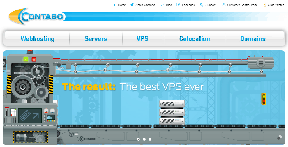Cheap Java VPS hosting with Contabo