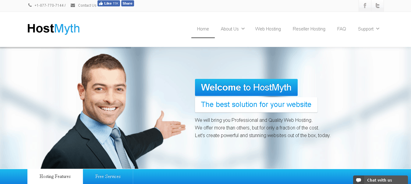 hostmyth main
