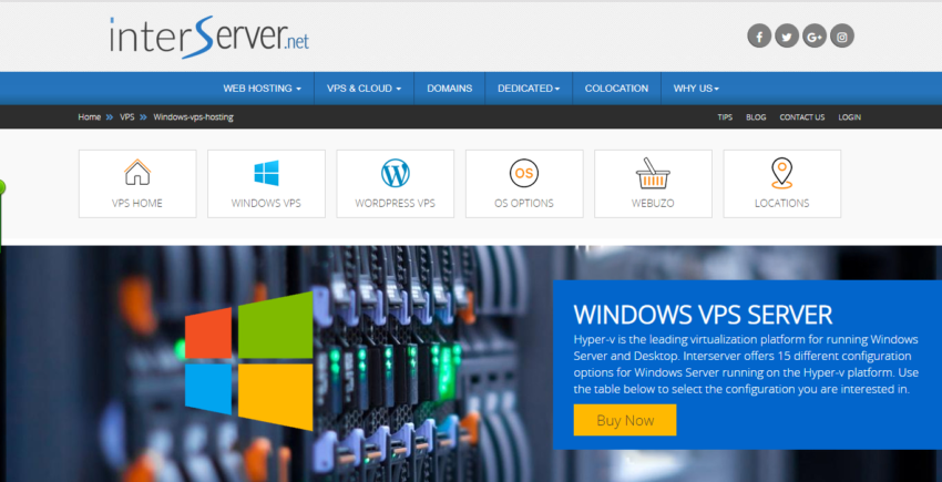 interserver_windows_vps