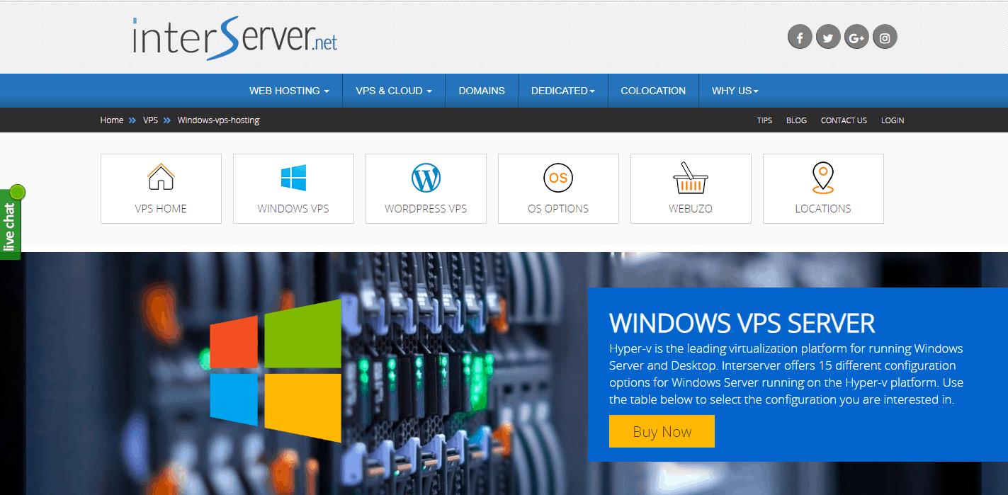 interserver_windows_vps