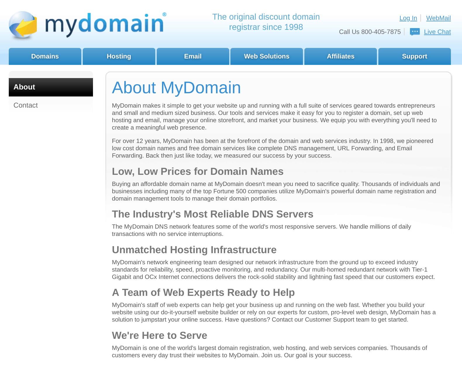 mydomain 1