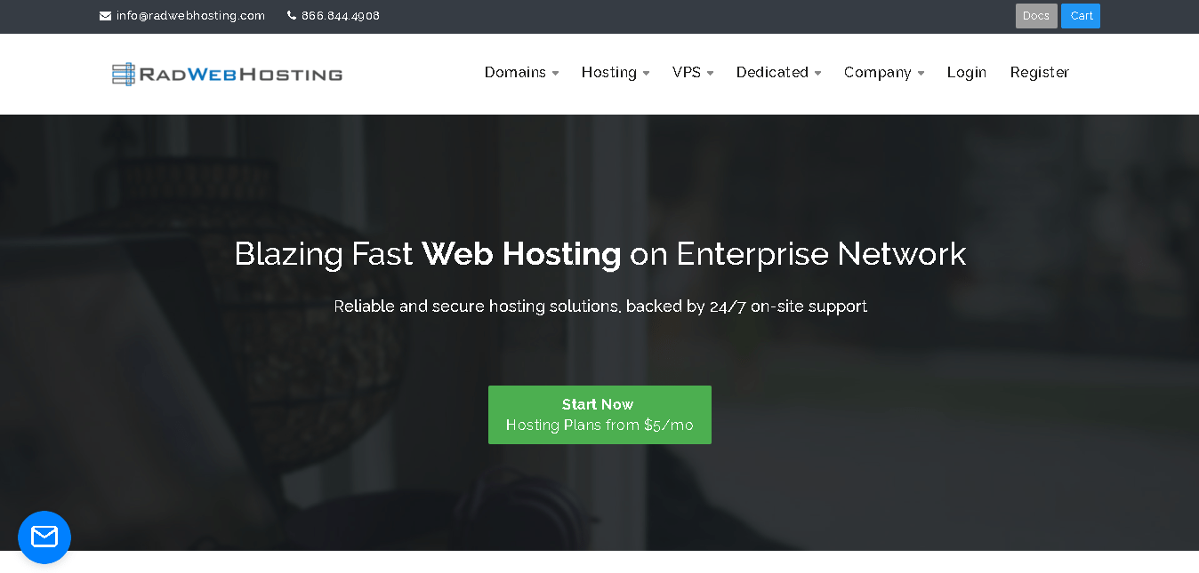 Rad Web Hosting