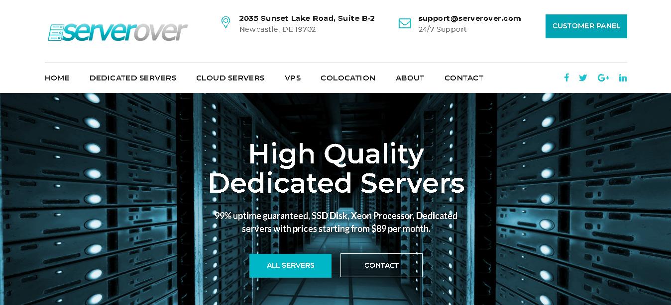 ServerOver
