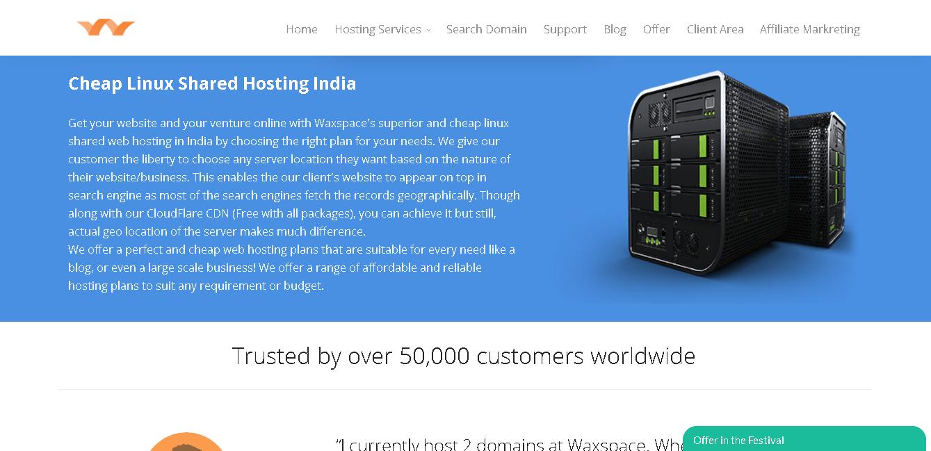 waxspace india main