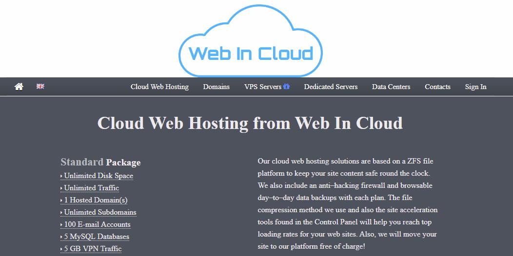 Web In Cloud