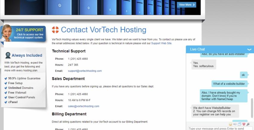 VorTech Hosting