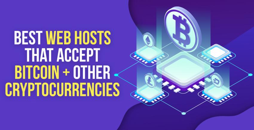 De 5 beste webhosting- en domeinservices die in 2020 Bitcoin accepteren