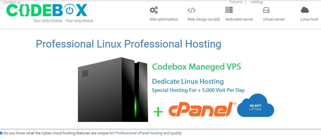 Codebox Linux