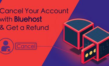 Bluehostでアカウントをキャンセルして返金してもらう方法