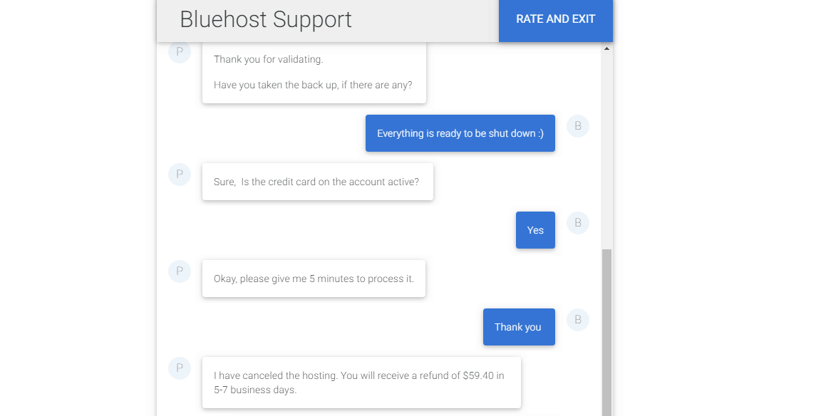 How to Cancel Your Account with Bluehost and Get a Refund-image5
