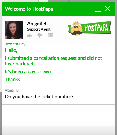How to Cancel Your Account with HostPapa and Get a Refund-image4