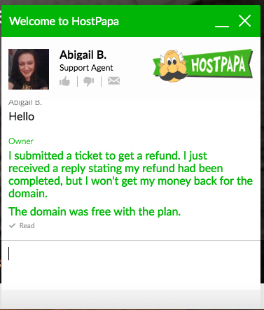 How to Cancel Your Account with HostPapa and Get a Refund-image5