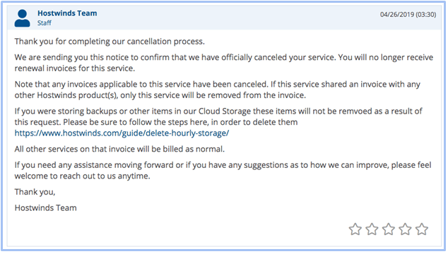 How to Cancel Your Account with Hostwinds and Get a Refund-image4