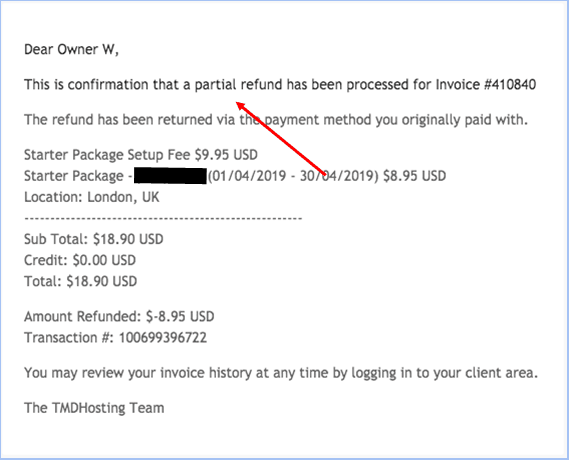 How to Cancel Your Account with TMDHosting and Get a Refund-image5