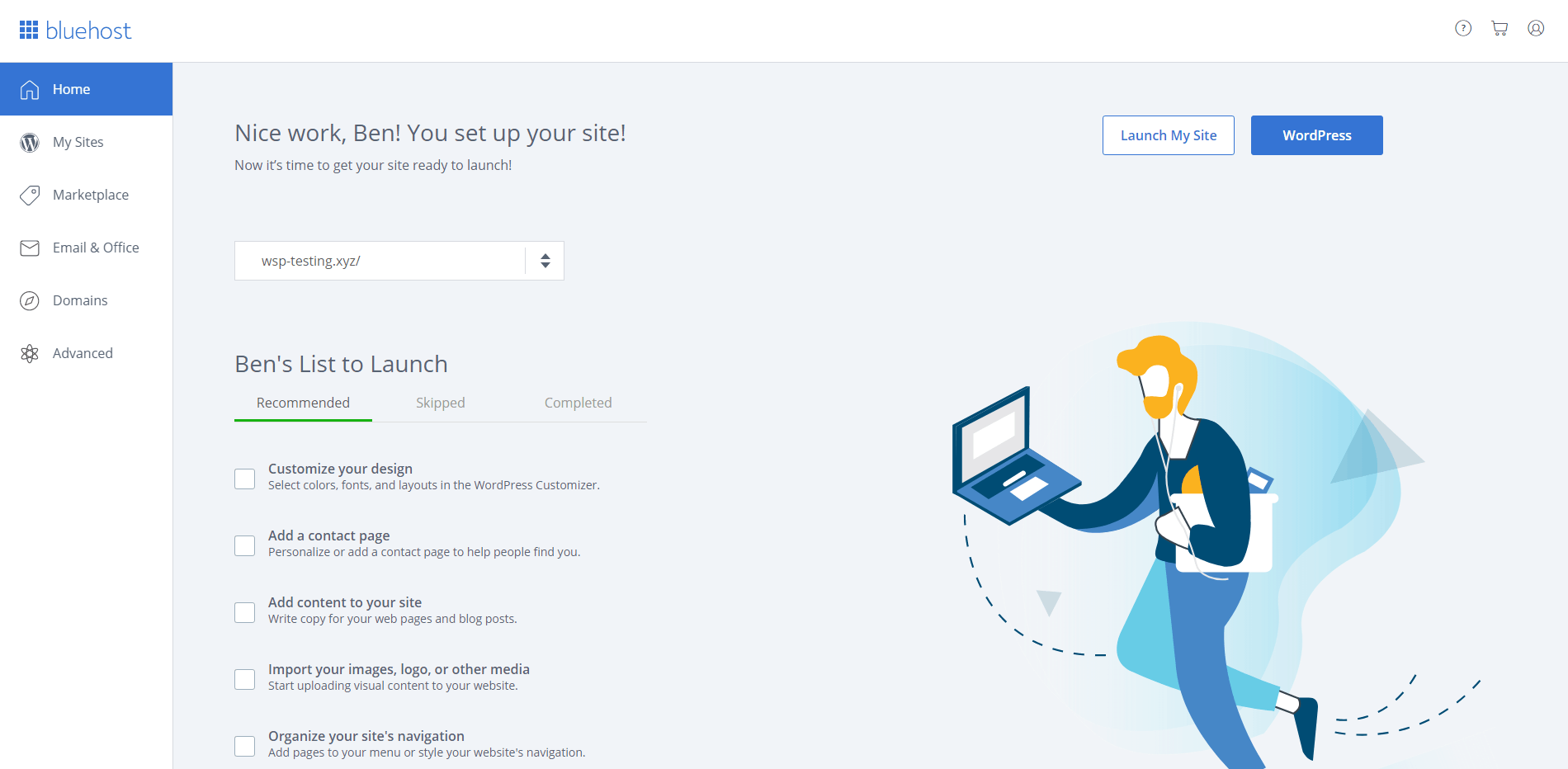 How to Connect Your Domain + Install WordPress on Bluehost-image6