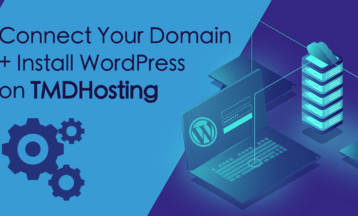 Koble til et domene + installer WordPress på TMDHosting