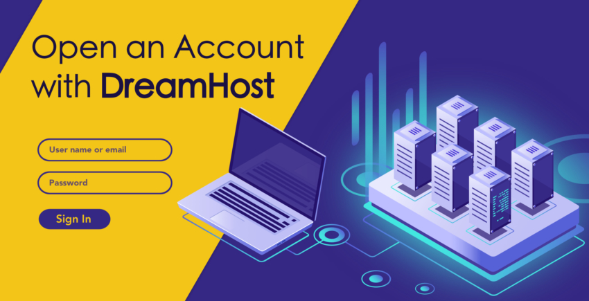 How to Create a New Account with DreamHost