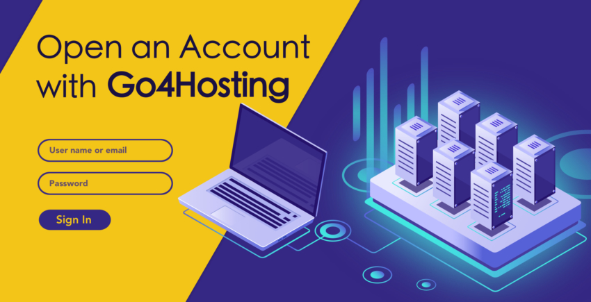 How to Create a New Account with Go4Hosting