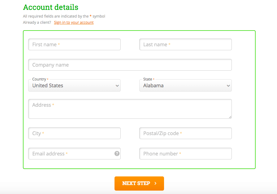 How to Create a New Account with HostPapa-image3