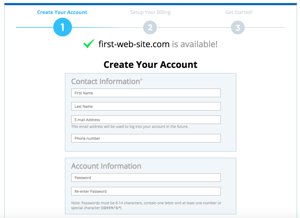 How to Create a New Account with Web.com-image2