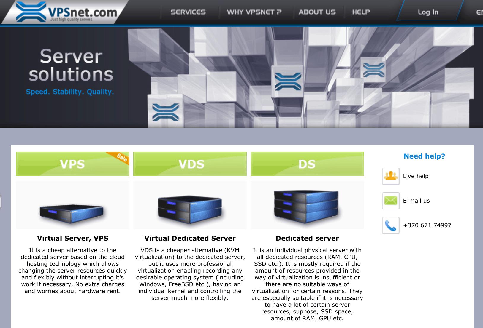 VPSnet