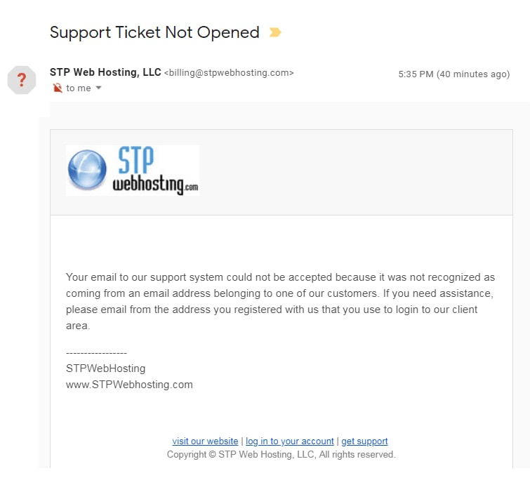 STP Webhosting
