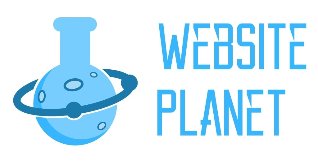 Website Planet logo made with BrandCrowd
