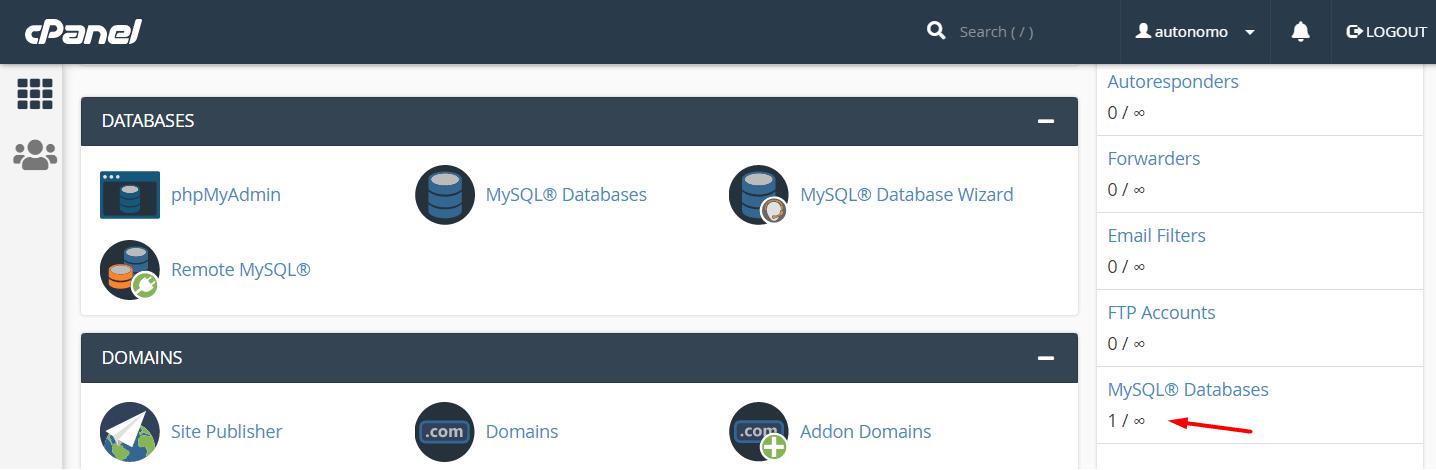 interserver MySQL