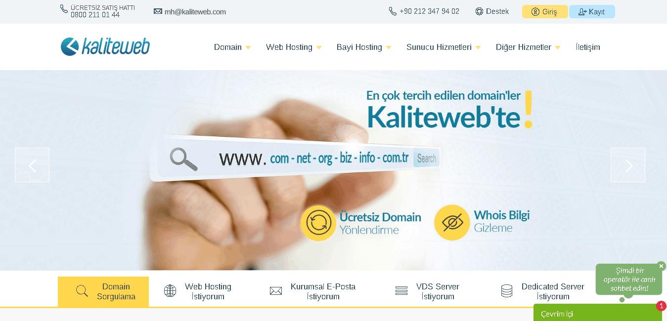 kaliteweb main