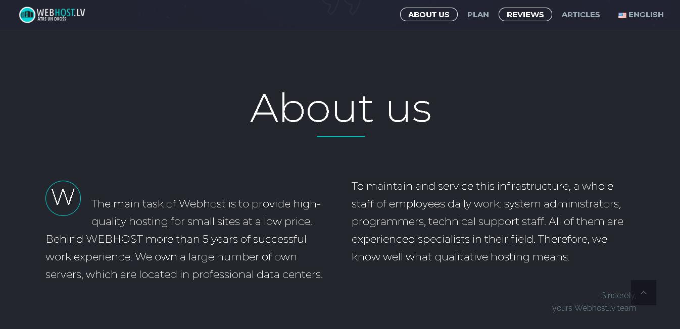 webhostlv main