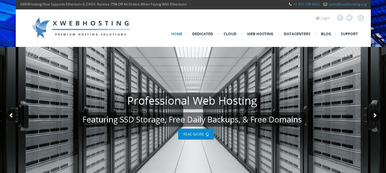 xwebhosting main