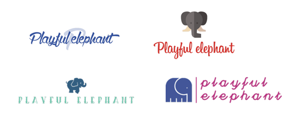 Tailor Brands sample logos