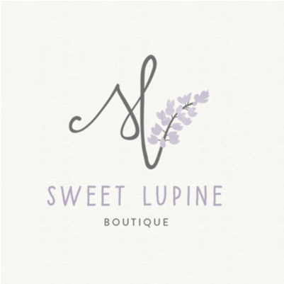 Clothing logo - Sweet Lupine