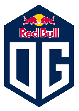 Gaming team logo - Red Bull OG