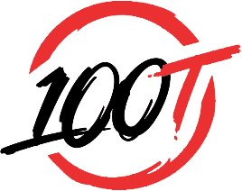 Gaming team logo - 100 Thieves