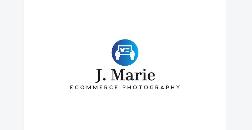 Sample photography logo, ecommerce style - made with Looka