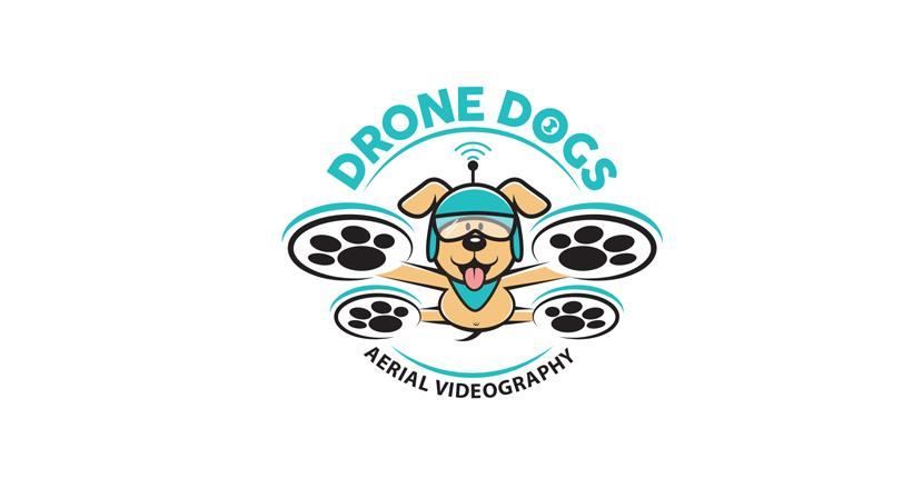 Photography logo - Drone Dogs