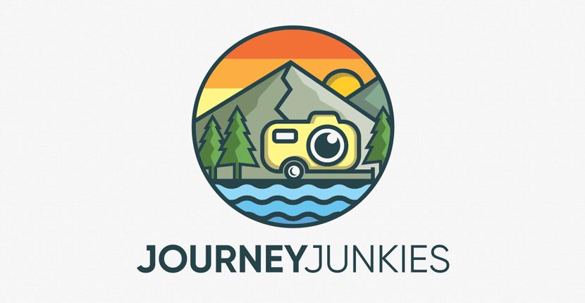 Photography logo - JourneyJunkies