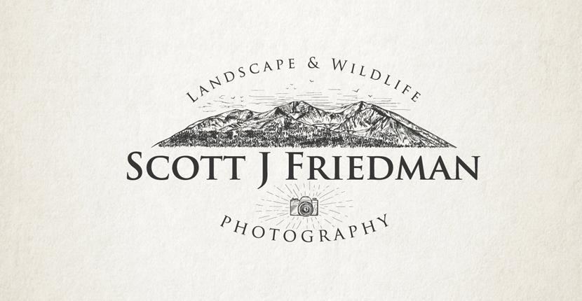 Photography logo - Scott J Friedman Photography