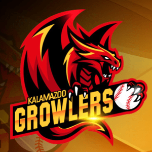 Baseball logo - Kalamazoo Growlers