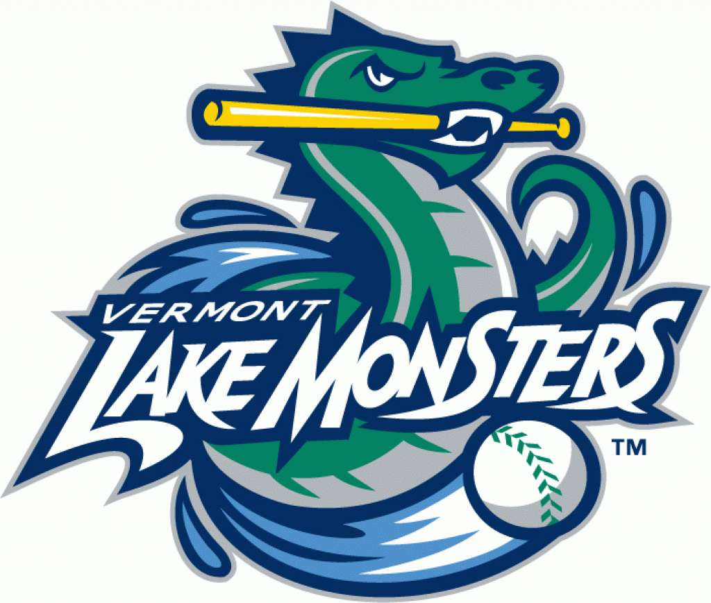 Baseball logo - Vermont Lake Monsters