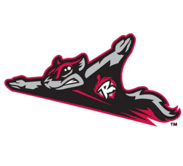 Baseball logo - Flying Squirrels