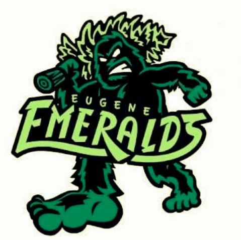 Baseball logo - Eugene Emeralds