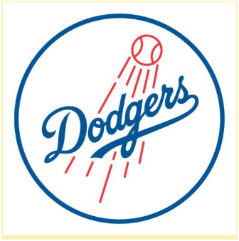 Baseball logo - Dodgers