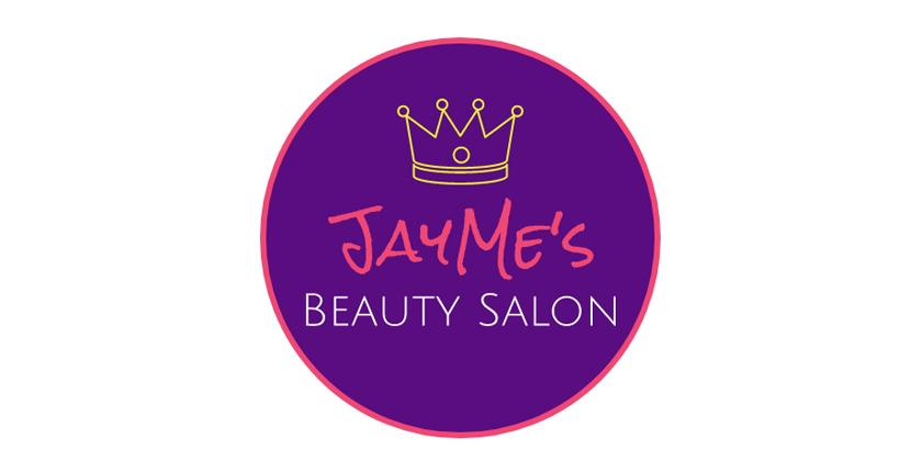 Beauty salon logo, royalty style - created with Wix Logo Maker