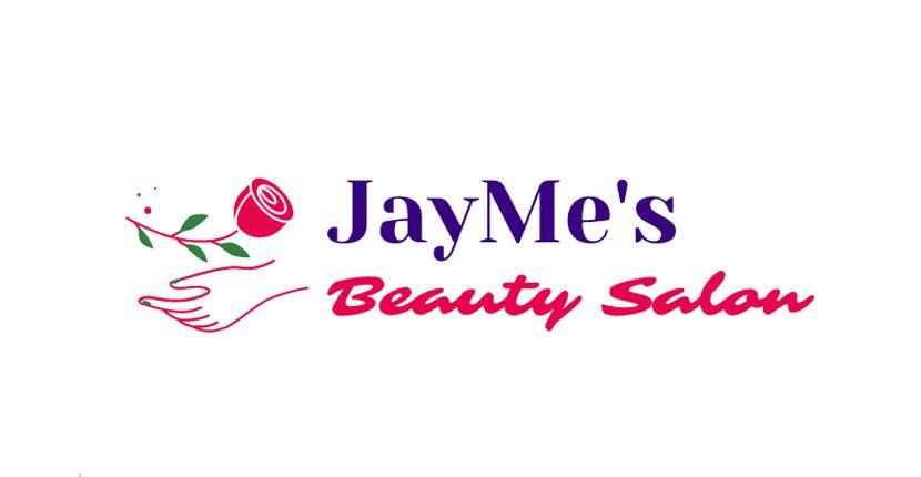Beauty salon logo, feminine style - created with Wix Logo Maker