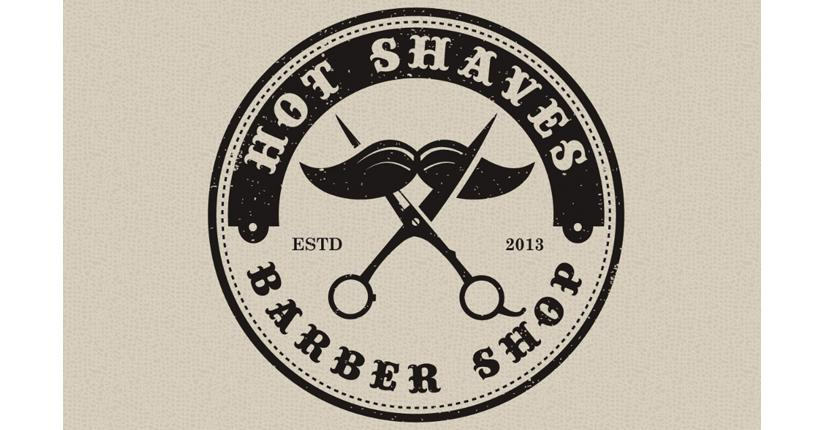 Beauty salon logo - Hot Shaves